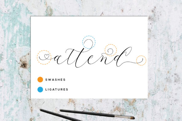 Print on Demand: Latia Script Script & Handwritten Font By fanastudio - Image 16