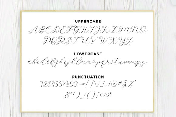 Print on Demand: Latia Script Script & Handwritten Font By fanastudio - Image 17