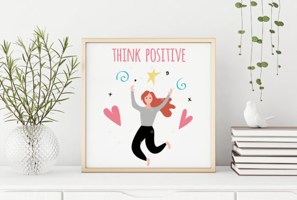 Download Free Law Of Attraction And Positive Mindset Concepts Graphic By Switzershop Creative Fabrica for Cricut Explore, Silhouette and other cutting machines.