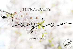 Layla Font By Asyan Design