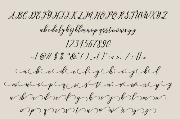 Leighton Font By Amarlettering Image 4
