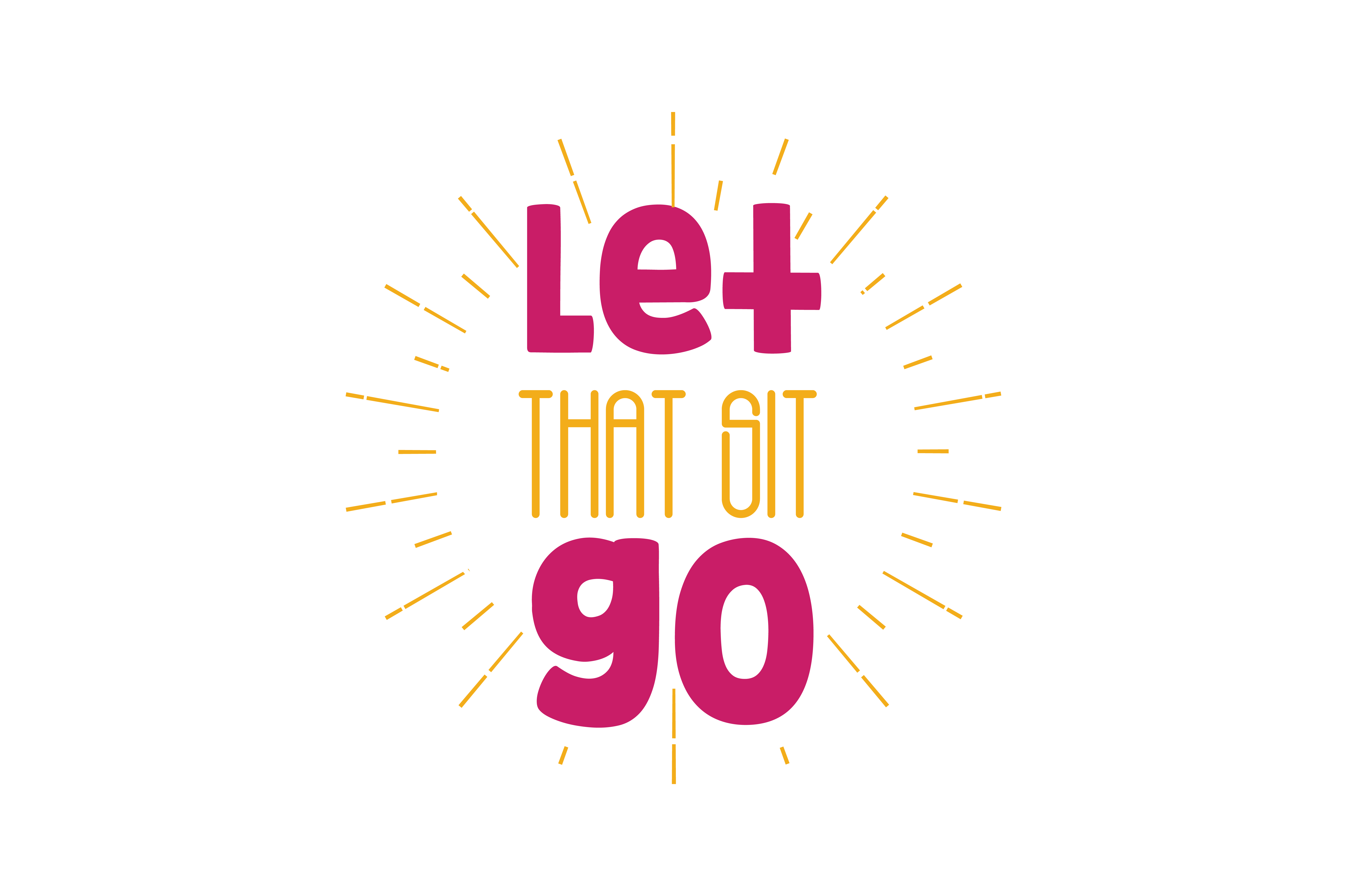 Download Free Let That Sit Go Quote Svg Cut Graphic By Thelucky Creative Fabrica for Cricut Explore, Silhouette and other cutting machines.