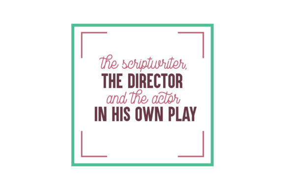 Download Free Let The Child Be The Scriptwriter The Director And The Actor In for Cricut Explore, Silhouette and other cutting machines.