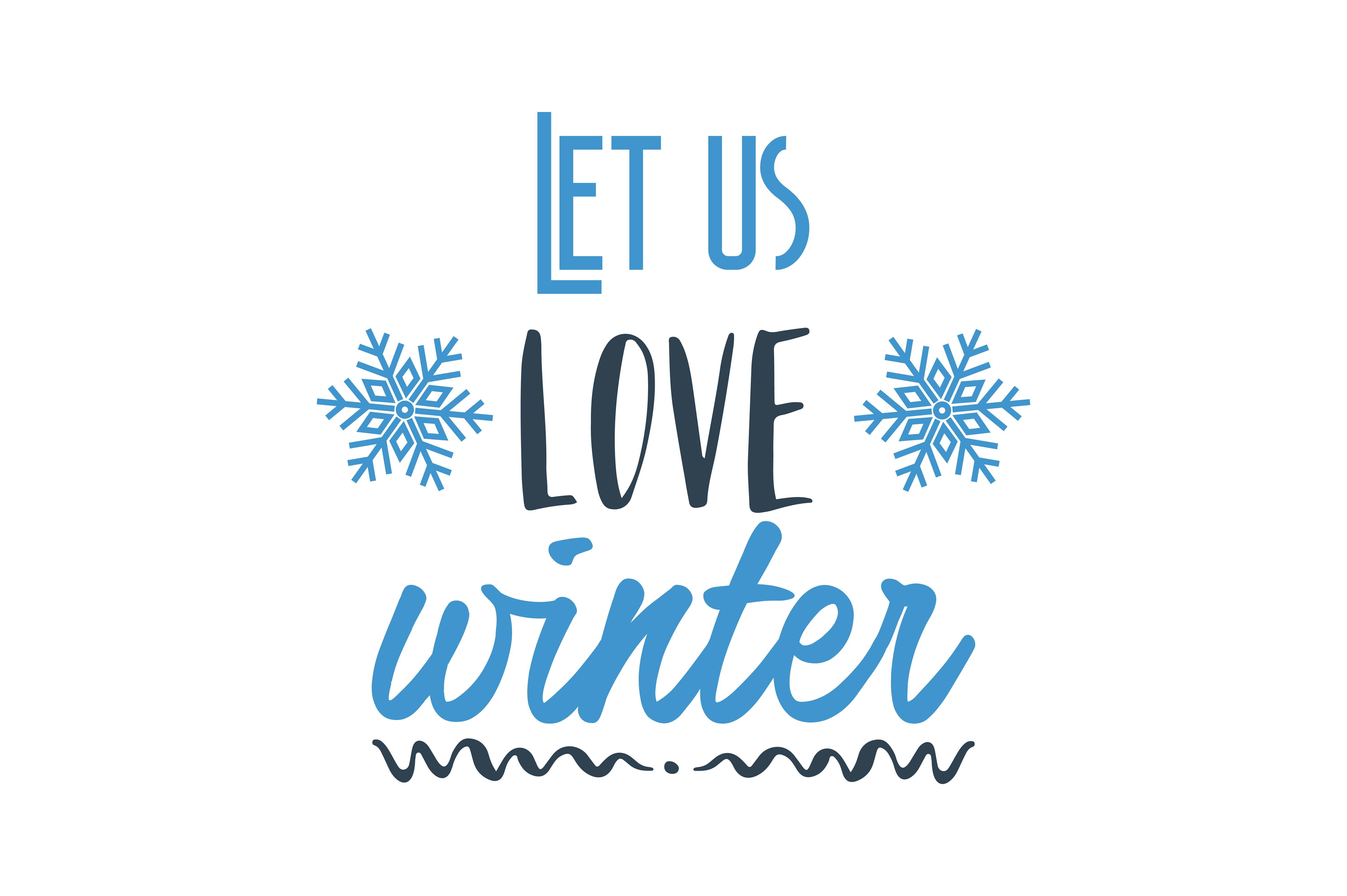 Download Free Let Us Love Winter For It Is The Spring Of Genius Quote Svg Cut for Cricut Explore, Silhouette and other cutting machines.
