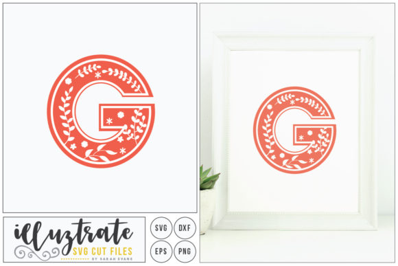 Print on Demand: Letter G Alphabet Graphic Crafts By illuztrate - Image 1