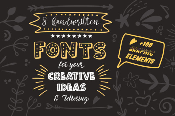 Print on Demand: Lettering Box Script & Handwritten Font By Red Ink - Image 2