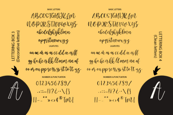 Print on Demand: Lettering Box Script & Handwritten Font By Red Ink - Image 17