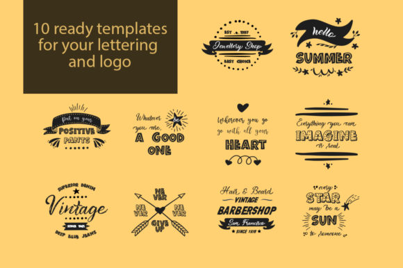 Print on Demand: Lettering Box Script & Handwritten Font By Red Ink - Image 19