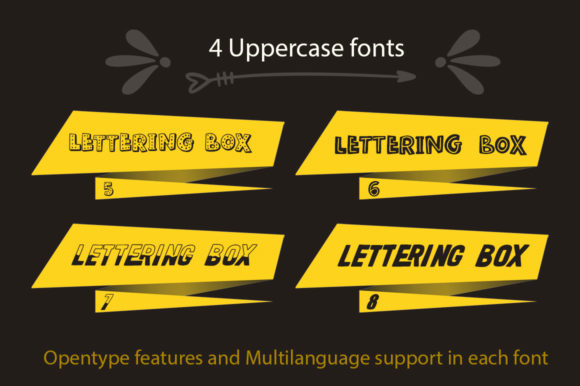 Print on Demand: Lettering Box Script & Handwritten Font By Red Ink - Image 5