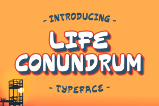 Life Conundrum Font By Rifki (7ntypes)
