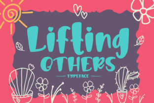 Lifting Others Font By Rifki (7ntypes)