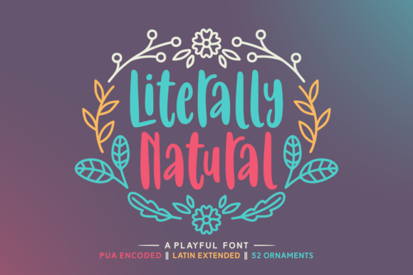 Print on Demand: Literally Natural Script & Handwritten Font By Situjuh