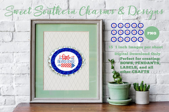 Little Firecracker Graphic Crafts By Sweet Southern Charms