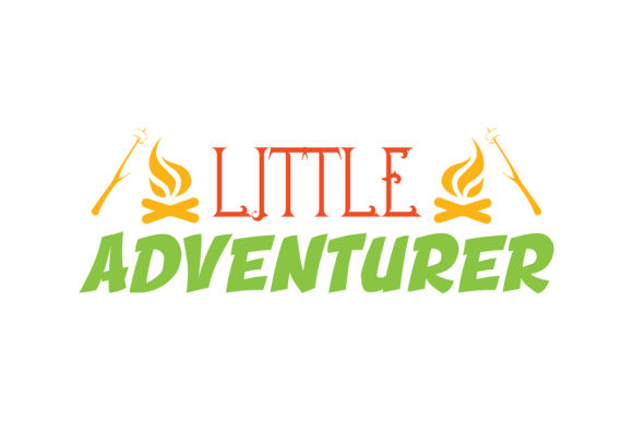 Print on Demand: Little Adventurer Quote SVG Cut Graphic Crafts By TheLucky
