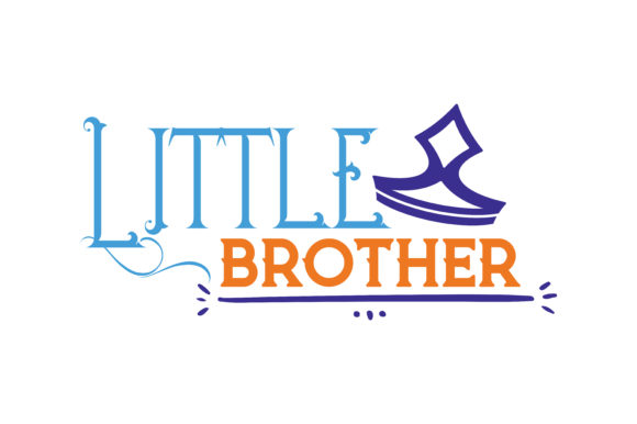 Print on Demand: Little Brother Quote SVG Cut Graphic Crafts By TheLucky