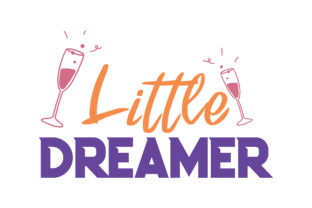 Download Free Little Dreamer Quote Svg Cut Graphic By Thelucky Creative Fabrica for Cricut Explore, Silhouette and other cutting machines.