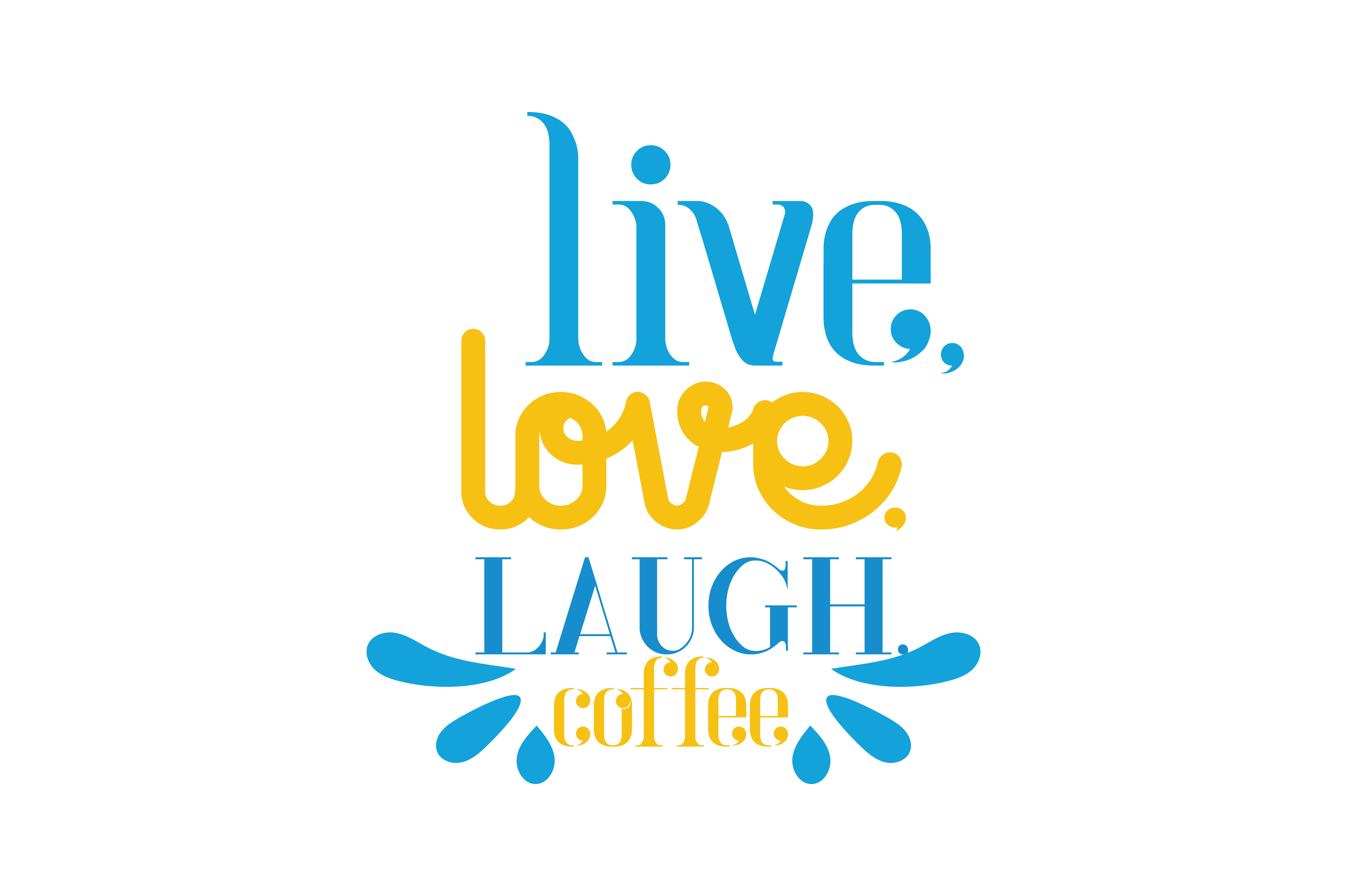 Download Free Live Love Laugh Coffee Quote Svg Cut Grafik Von Thelucky for Cricut Explore, Silhouette and other cutting machines.