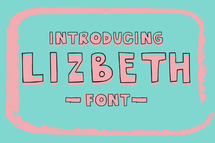 Download Free Lizbeth Font By Carrtoonz Creative Fabrica for Cricut Explore, Silhouette and other cutting machines.