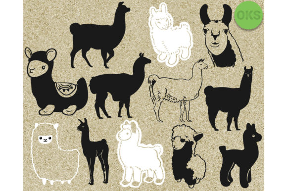 Download Free Llama Graphic By Crafteroks Creative Fabrica for Cricut Explore, Silhouette and other cutting machines.