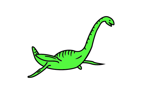 Download Free Loch Ness Monster Archivos De Corte Svg Por Creative Fabrica for Cricut Explore, Silhouette and other cutting machines.
