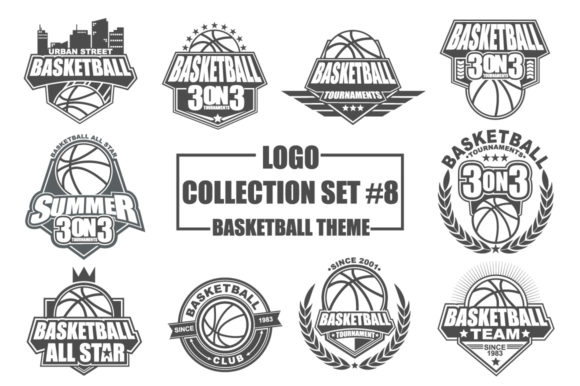 Download Free Logo Collection Set With Sandwich Theme Graphic By Azkaryzki SVG Cut Files