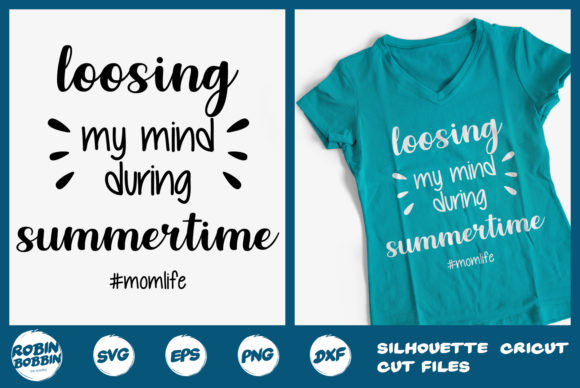 Print on Demand: Loosing My Mind During Summertime Graphic Crafts By RobinBobbinDesign