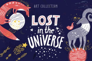 Print on Demand: Lost in the Universe Art Collection Graphic Illustrations By struvictory