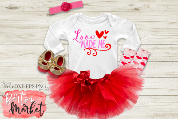 Love Made Me SVG Graphic Crafts By Barton Market - Image 2