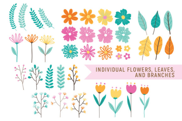 Love Spring Florals Graphic By Reg Silva Art Shop Image 2