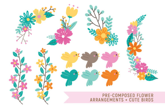 Love Spring Florals Graphic By Reg Silva Art Shop Image 3