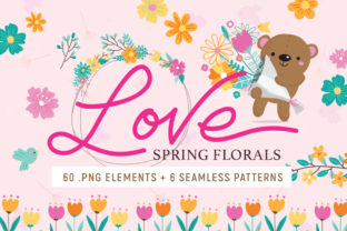 Love Spring Florals Graphic By Reg Silva Art Shop