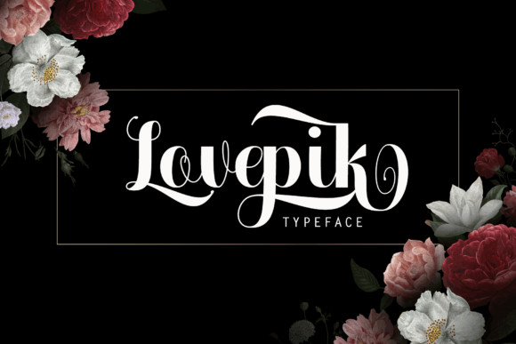 Print on Demand: Lovepik Script & Handwritten Font By Ageless Type