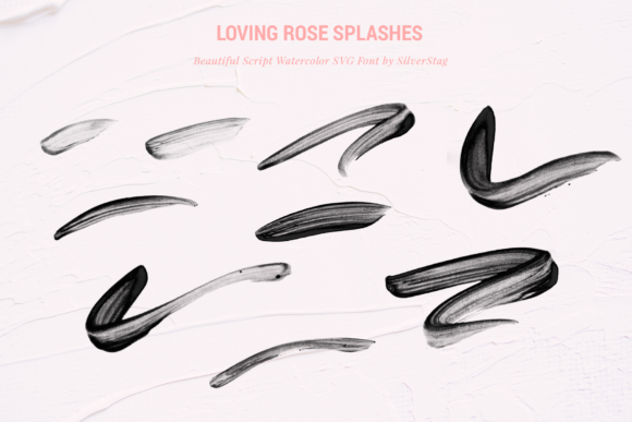 Print on Demand: Loving Rose Color Fonts Font By SilverStag - Image 12