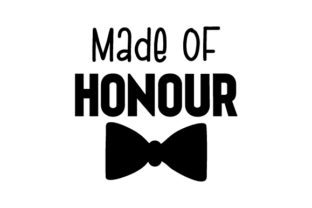 Made of Honour British Spelling Craft Cut File By Creative Fabrica Crafts
