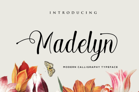 Print on Demand: Madelyn Script & Handwritten Font By anasofart - Image 1