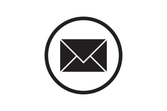 Download Free Mail Icon Graphic By Zafreeloicon Creative Fabrica for Cricut Explore, Silhouette and other cutting machines.