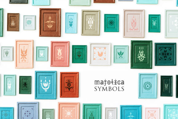 Print on Demand: Majolica Display Font By struvictory - Image 5