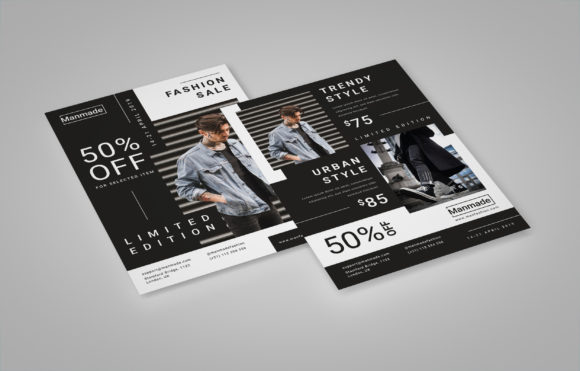 Man Made - Fashion Flyer Graphic Print Templates By irfanfirdaus19 - Image 6