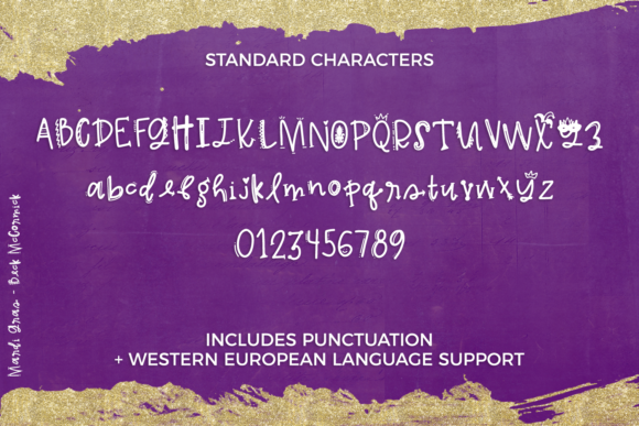 Print on Demand: Mardi Gras Decorative Font By BeckMcCormick - Image 9