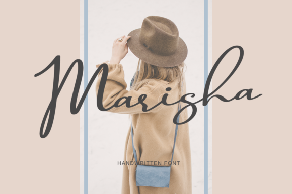Print on Demand: Marisha Script & Handwritten Font By Pasha Larin