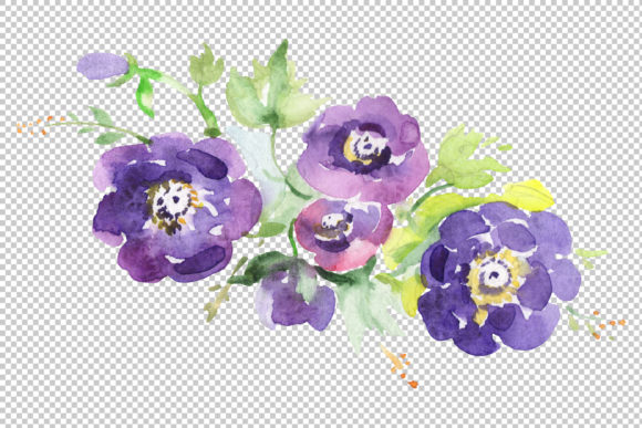 Download Free Mars Bouquet Watercolor Png Graphic By Mystocks Creative Fabrica for Cricut Explore, Silhouette and other cutting machines.