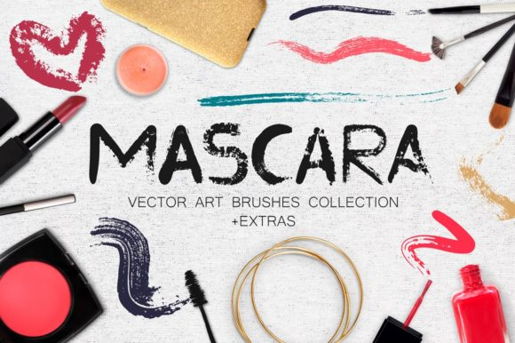 Mascara - Vector Art Brushes Graphic Brushes By Anastasiia Macaluso