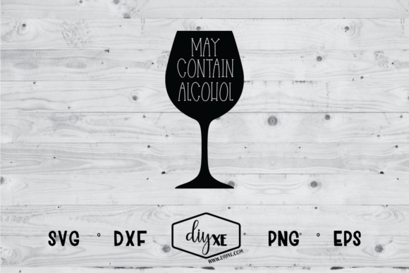 Download Free May Contain Alcohol Svg Graphic By Sheryl Holst Creative Fabrica for Cricut Explore, Silhouette and other cutting machines.