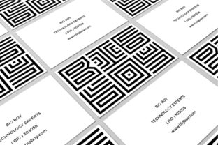 Print on Demand: Maze Line Display Font By putracetol 8