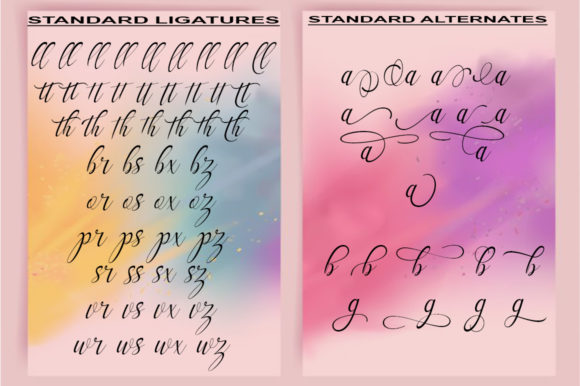 Print on Demand: Mellanie Script & Handwritten Font By StudioRz - Image 5