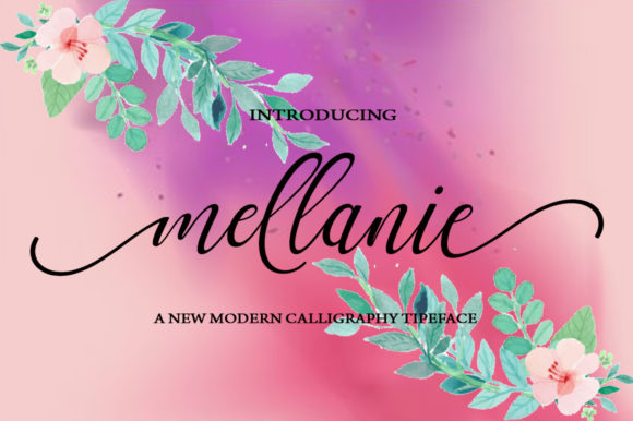 Print on Demand: Mellanie Script & Handwritten Font By StudioRz - Image 1