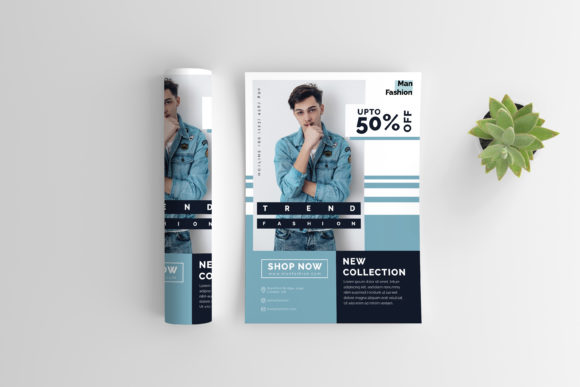 Men Fashion Flyer Graphic