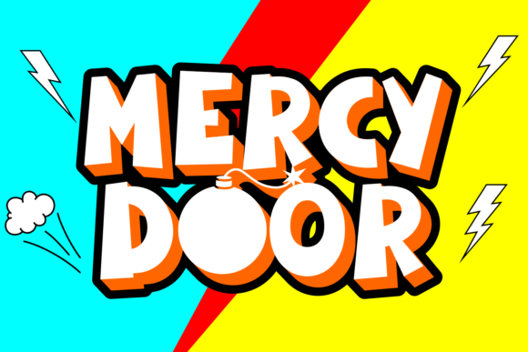 Mercy Door Display Font By Rifki (7ntypes)