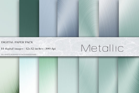 Download Free Metallic Digital Paper Background Graphic By Bonadesigns for Cricut Explore, Silhouette and other cutting machines.