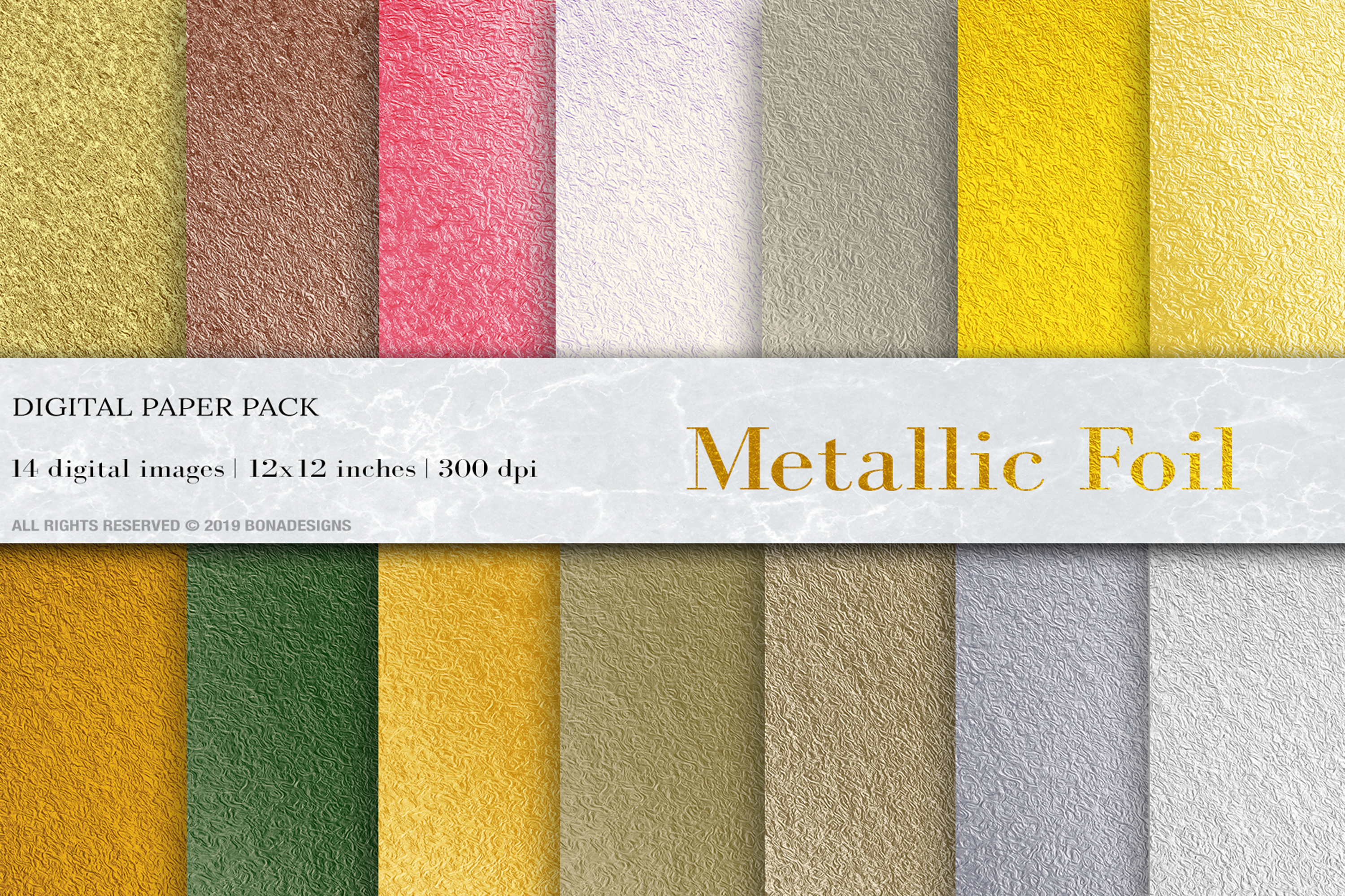 Download Free Metallic Foil Digital Papers Gold Foil Backgrounds Graphic By for Cricut Explore, Silhouette and other cutting machines.
